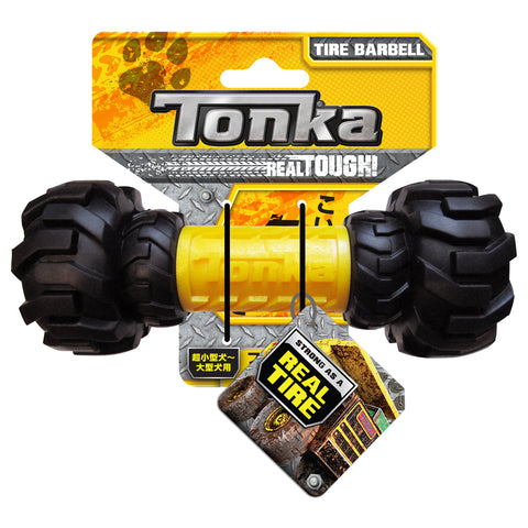 TONKA Axel Tread Feeder Black/Yellow 17.5cm