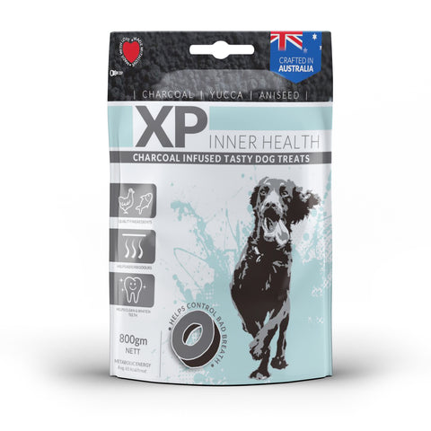 XP Inner Health Charcoal Infused Dog Treat Chicken & Fish 800gm