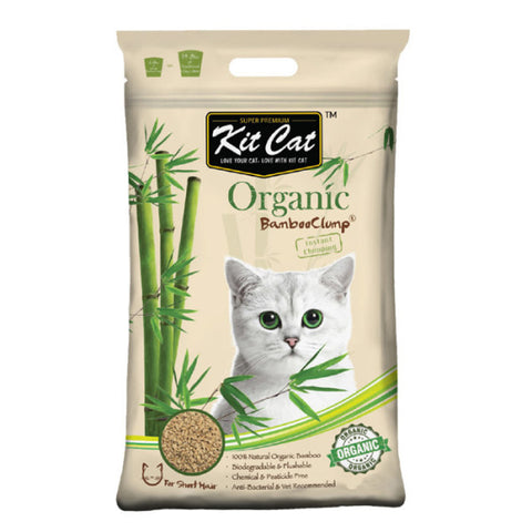 Kit Cat Organic Bamboo Cat Litter