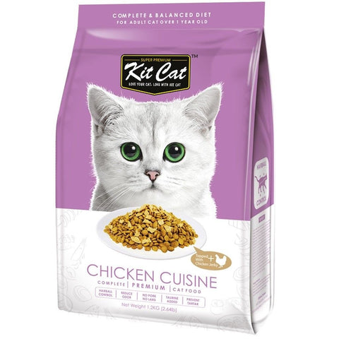 Kit Cat Premium Cat Food - Chicken Cuisine 5kg