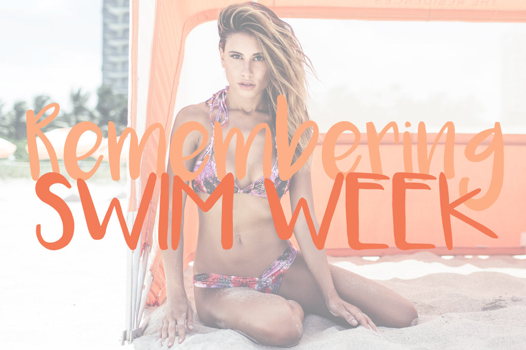 Remembering Swim Week Lookbook