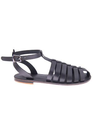 Bougainvilleas Yapo Leather Sandals