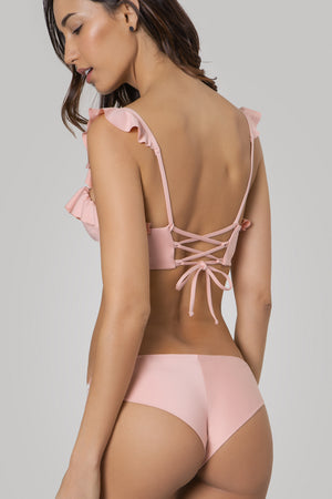 Agua Bendita Lola Solids Pink Bottom 5955