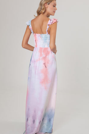 AguaBendita Shibori Leandra Dress 6171