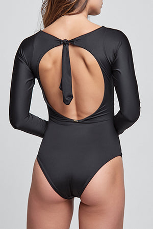 Angelina Black One Piece