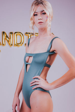 Bandits Swimwear Bailey Geometric One Piece in Cactus