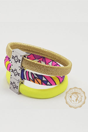 No-Break Bracelet Hair Ties (Sun Soaked)