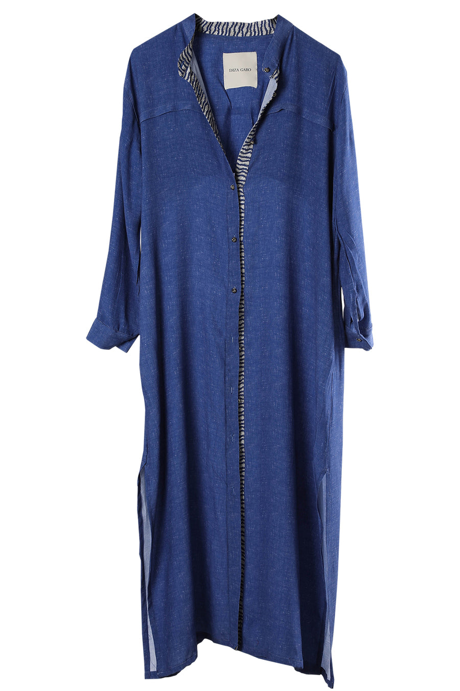 Flow Dress Cobalt Blue