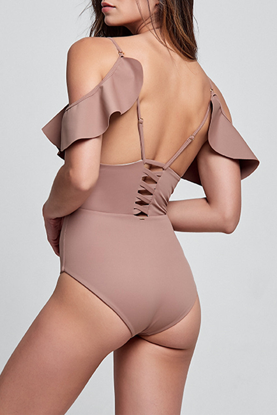 Sleek Esther Moka One Piece