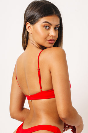 Kaohs Mia Bikini Top in Red