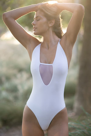 Lumahai Sofia One Piece in White