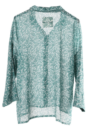 Matchers Shirt Damask Neo Mint