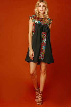Margot Vista Hermosa Dress in Black