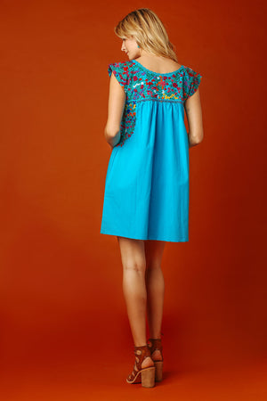 Margot Vista Hermosa Dress in Teal