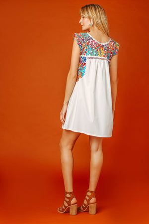 Margot Vista Hermosa Dress in White