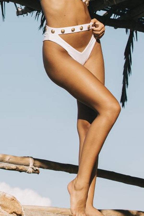 Monica Hansen Beachwear | Rich and Fab Cutout Bottom