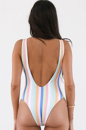 Nirvanic Swim Sol One Piece in Summer Stripe