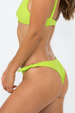 NirvanicSwim Sevilla Bottom Citrus Green