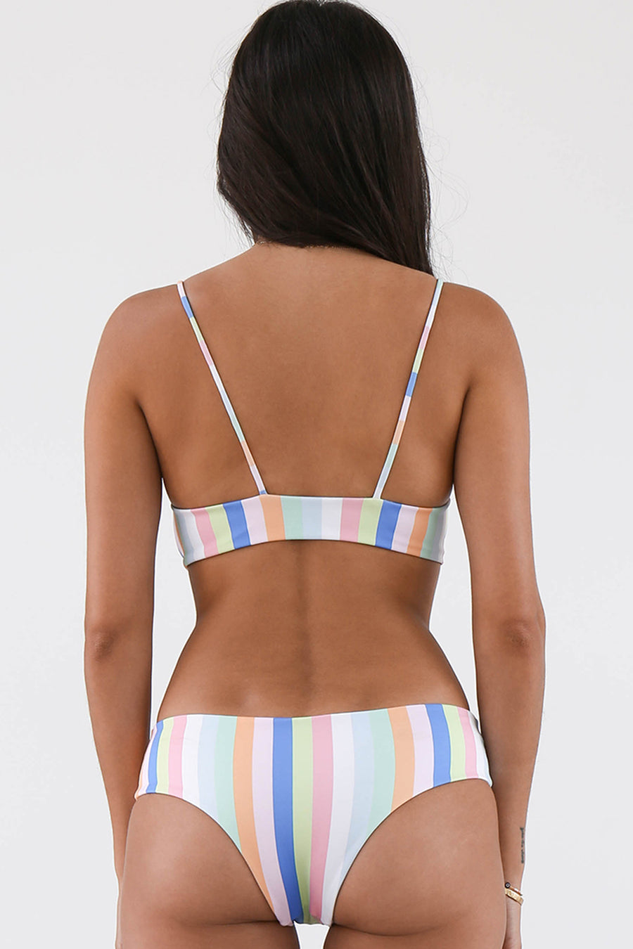 NirvanisSwim Aix Bikini Top in Summer Stripe
