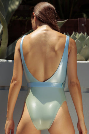 Normaillot Blue Rainbow One Piece