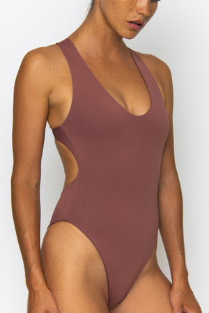 Novah Swimwear Willow One Piece Mocha