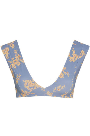 RevelRey Abigal Top Blue Botanical