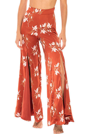 Revel Rey Kelly Sway Pants Rust Lily