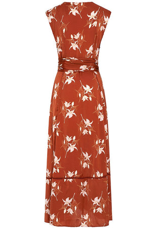 Revel Rey Audrey Sleeveless Duster Rust Lily
