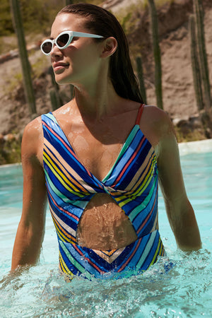 Saha Swimwear Palomino One Piece 20E27