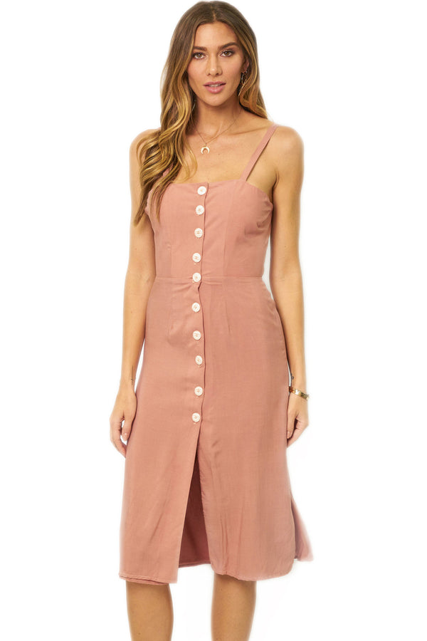 Shop Soah Camilla Rose Midi Dress