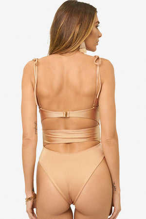 Magdalena Rose Gold One Piece