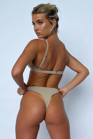 Siempre Golden Sexy Guilty Bikini in Mocha