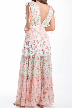 Smeralda Garden of Villa Long Dress RDW003