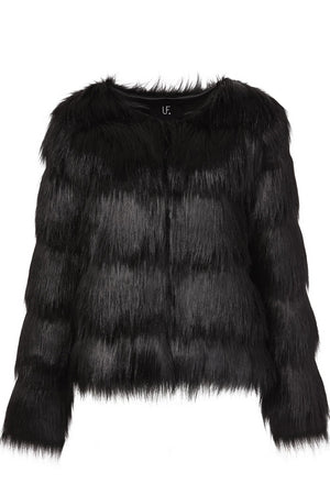 Unreal Fur Elements Jacket in Black