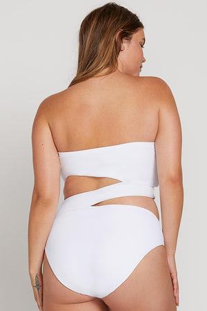 Volcom Swim Simply Seamless One Piece in White