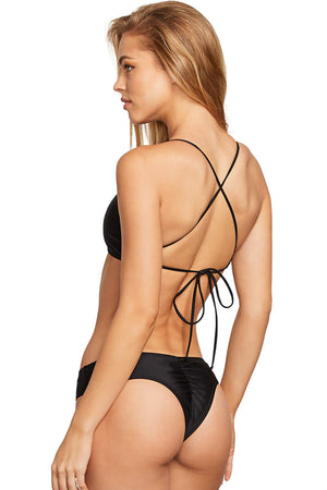 Volcom Swimwear Simply Solid Cheeky Bottom
