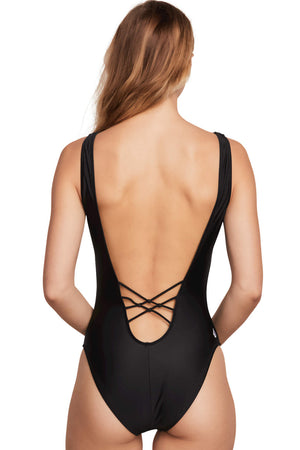 Volcom Swimwear Simply Solid One Piece