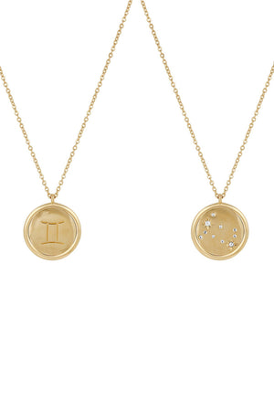Zodiac Medallion Gold