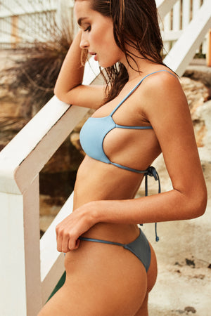 Wildaster Collection Jena Bikini Top in Iceberg