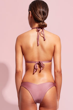 Wildaster Collection Stella Bikini Bottom in Mauve