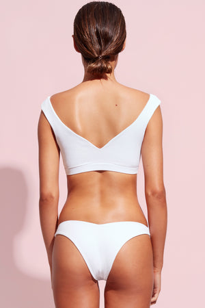 Wildaster Collection Stella Bikini Bottom in Snow