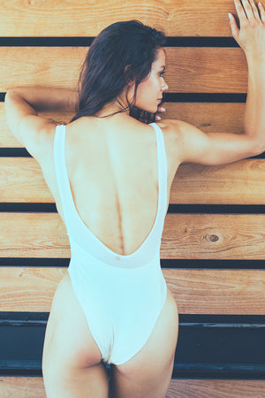Bandits Swimwear Harlow One Piece in Ivory
