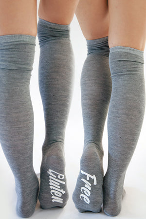 Jolly Jive Gluten Free Socks Gray, Cacique Boutique