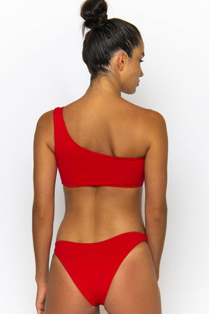 Novahswimwear Soca Bottom Chilli Ecoluxe
