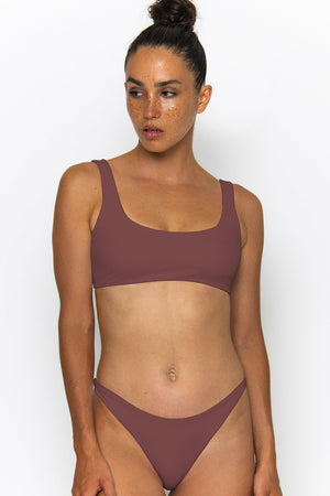 Novah Swimwear Layla Bottom Mocha