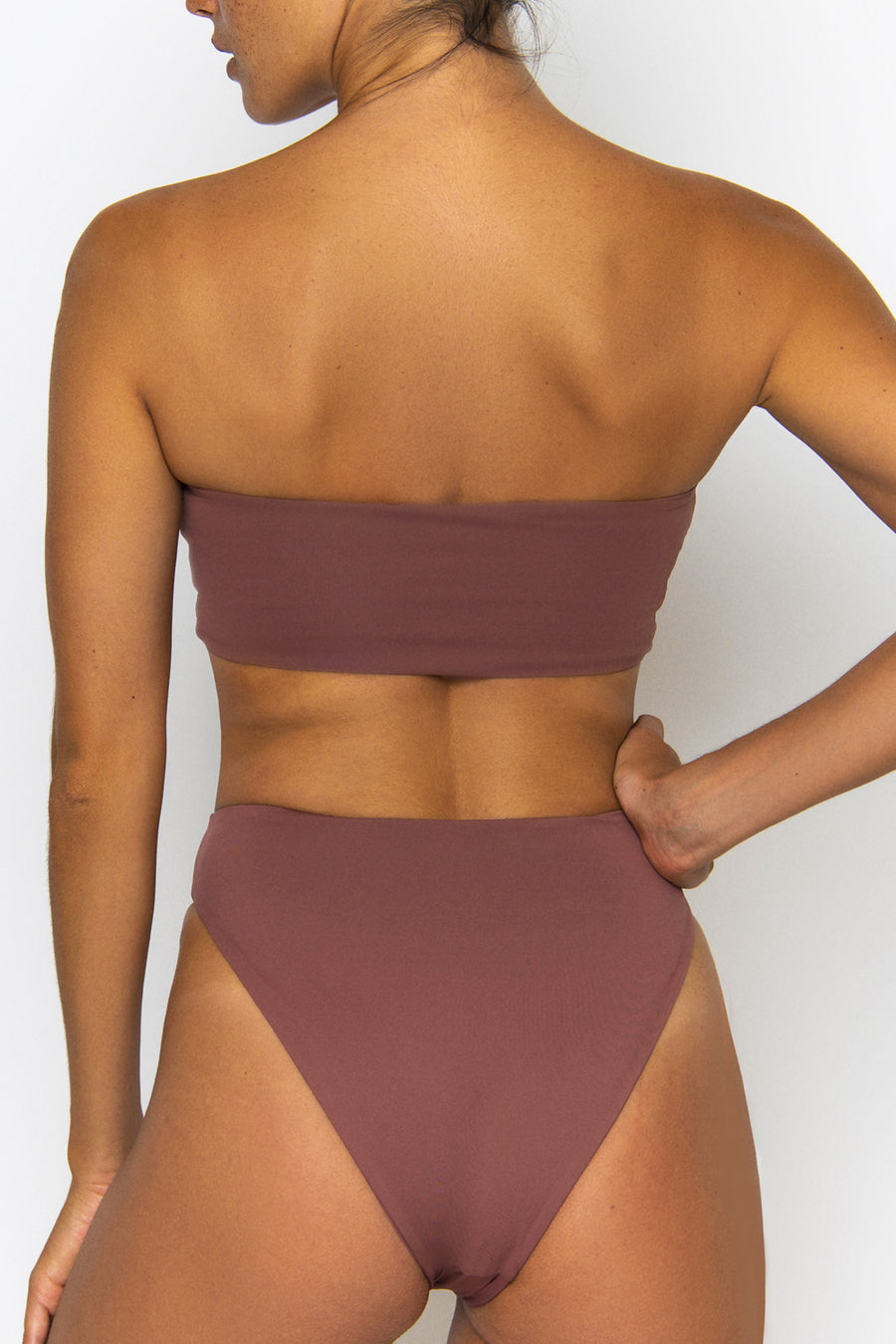 Novah Swimwear Elle Bottom Mocha