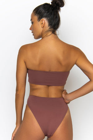 Novah Swimwear Levi Top Mocha