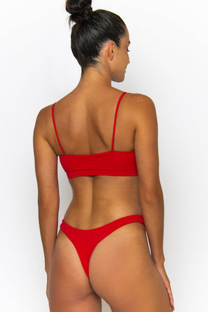 Novah Swimwear Phoebe Top Chilli Ecoluxe