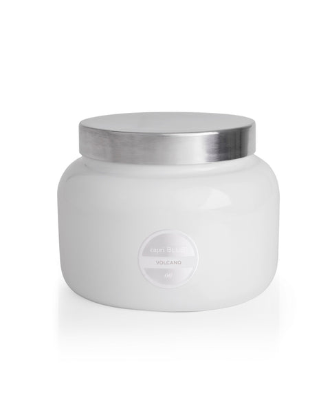 Signature Jumbo White Jar | Volcano