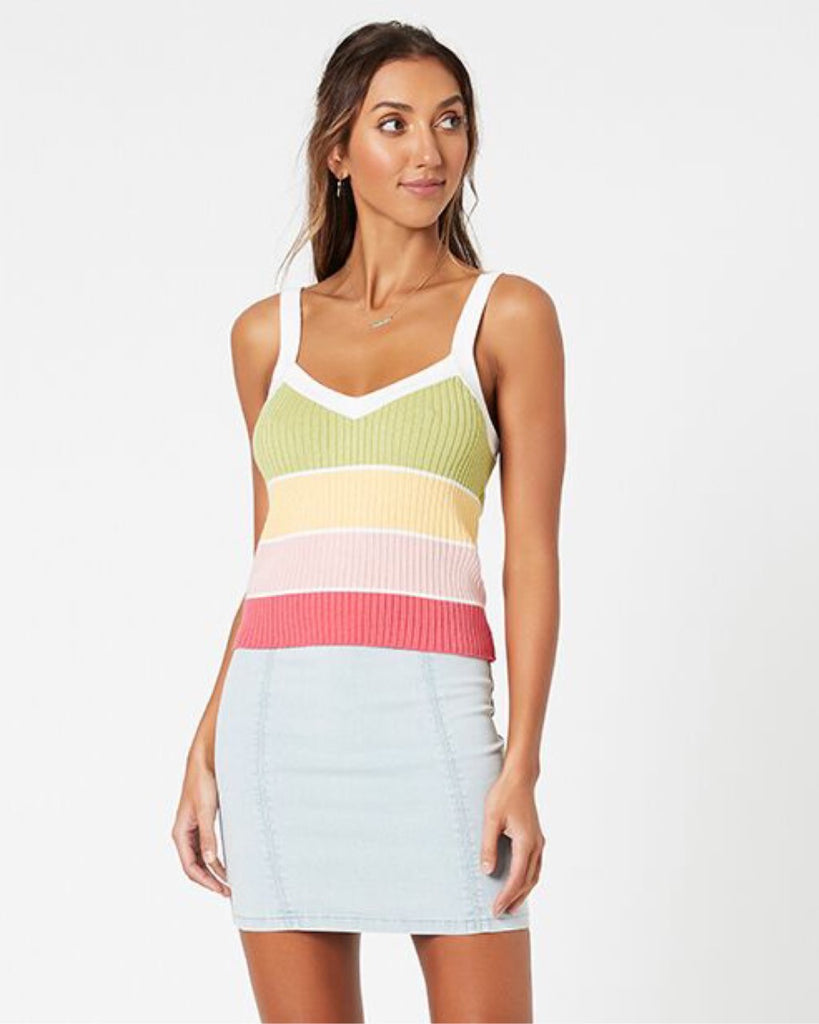 Cecily Stripe Top